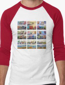 Sunset Series Men's Baseball ¾ T-Shirt