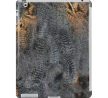 Natural Charcoal Grey Romney Fleece iPad Case/Skin