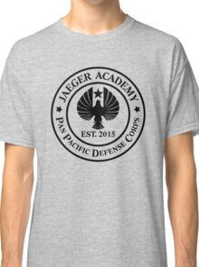 Jaeger Academy logo in black! Classic T-Shirt