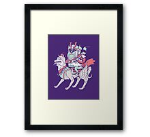 Modern Day Warrior Framed Print