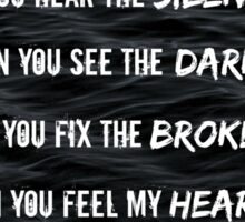 Can You Feel My Heart - Bring Me The Horizon Sticker