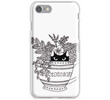 Cat in a Cup iPhone Case/Skin