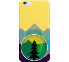Moonset Mountains 3 iPhone Case/Skin
