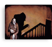 A Symphony of HORROR! Canvas Print