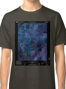 USGS TOPO Map California CA Westville 102142 2000 24000 geo Inverted Classic T-Shirt