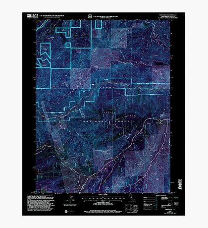 USGS TOPO Map California CA Westville 102142 2000 24000 geo Inverted Photographic Print