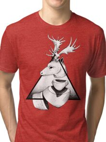 Metaphisical Deer T-shirt Chiné