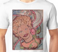 The Lady and The Mask Unisex T-Shirt