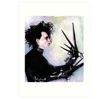 The story of an uncommonly gentle man. Art Print