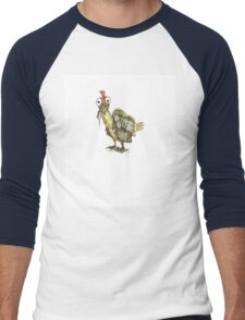 The Mad Max Chicken Men's Baseball ¾ T-Shirt