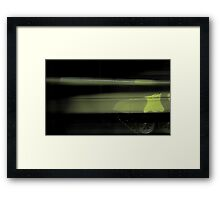 tank attack background Framed Print