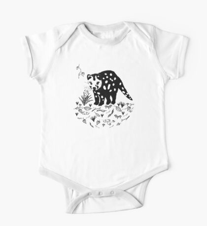 Spotted Tail Quoll- Dasyurus maculatus One Piece - Short Sleeve