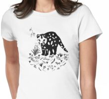 Spotted Tail Quoll- Dasyurus maculatus Womens Fitted T-Shirt