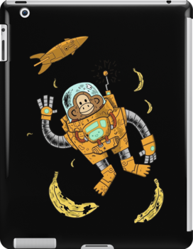 space chimp by caravantshirts