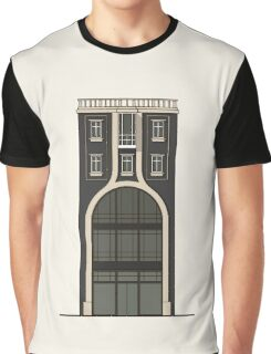 Black house with a shop Graphic T-Shirt