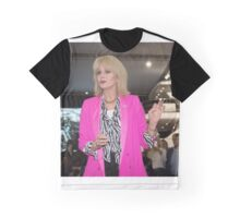 Joanna Lumley Graphic T-Shirt