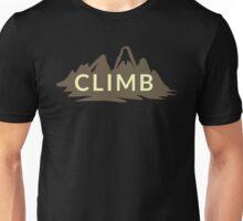Rock Climbing Unisex T-Shirt