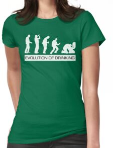 I Clover Shenanigans T-Shirt Funny St Patricks Day Shirt Womens Fitted T-Shirt