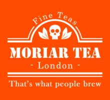 MoriarTea: What People Brew (white) Kids Clothes