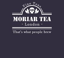 MoriarTea: What People Brew (white) Unisex T-Shirt