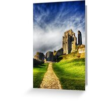 The Old Castle Greeting Card