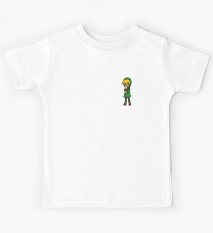 WW Link and Cat-- No Text Kids Tee