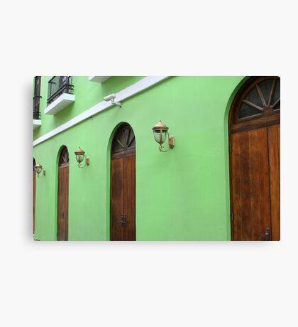 Verde Canvas Print