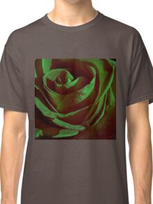 Green Rose Classic T-Shirt