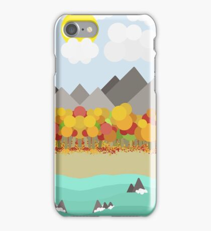 An Environmentally Unsound Landscape iPhone Case/Skin