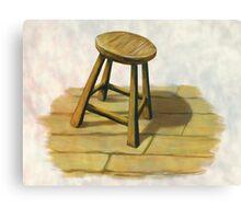little stool Canvas Print