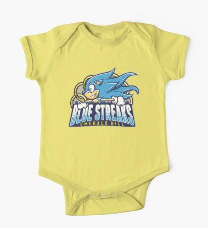 EH Blue Streaks One Piece - Short Sleeve