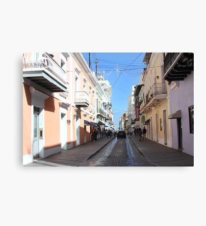 Old San Juan Canvas Print