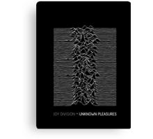 Joy Division - Unknown Pleasures Canvas Print