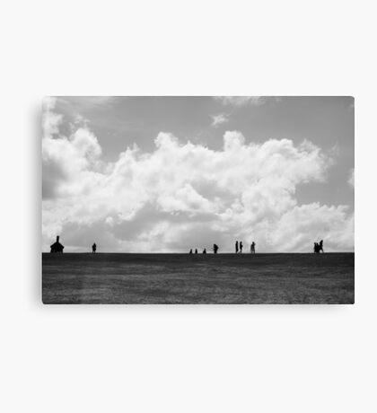 Caminando Canvas Print