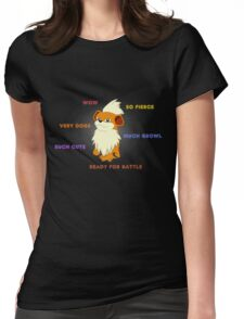 Such Growlithe Womens Fitted T-Shirt