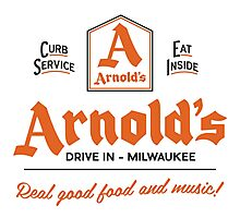 """""""Arnold's Drive In"""" - As seen on """"Happy Days"""" Photographic Print"""
