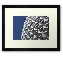 Spaceship Earth - Epcot Framed Print