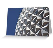 Spaceship Earth - Epcot Greeting Card