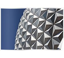 Spaceship Earth - Epcot Poster