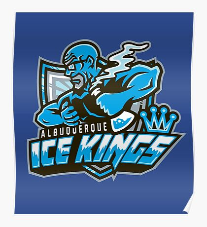 Albuquerque Ice kings Poster
