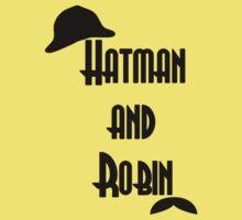 Hatman and Robin - Sherlock One Piece - Short Sleeve