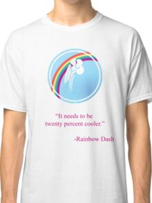 Rainbow Dash Emblem Classic T-Shirt