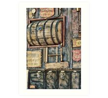 Steampunk Brewery Art Print