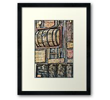 Steampunk Brewery Framed Print