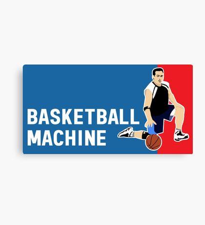 Basketball Machine Canvas Print
