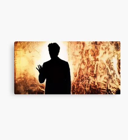 Doctor Who Heaven Sent Canvas Print