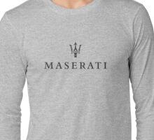 Maserati Long Sleeve T-Shirt