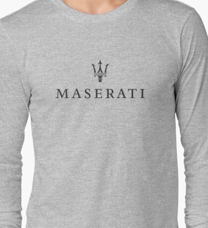 Maserati Long Sleeve T-Shirt
