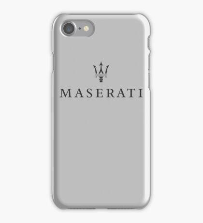 Maserati iPhone Case/Skin