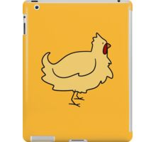 Yellow Chicken iPad Case/Skin